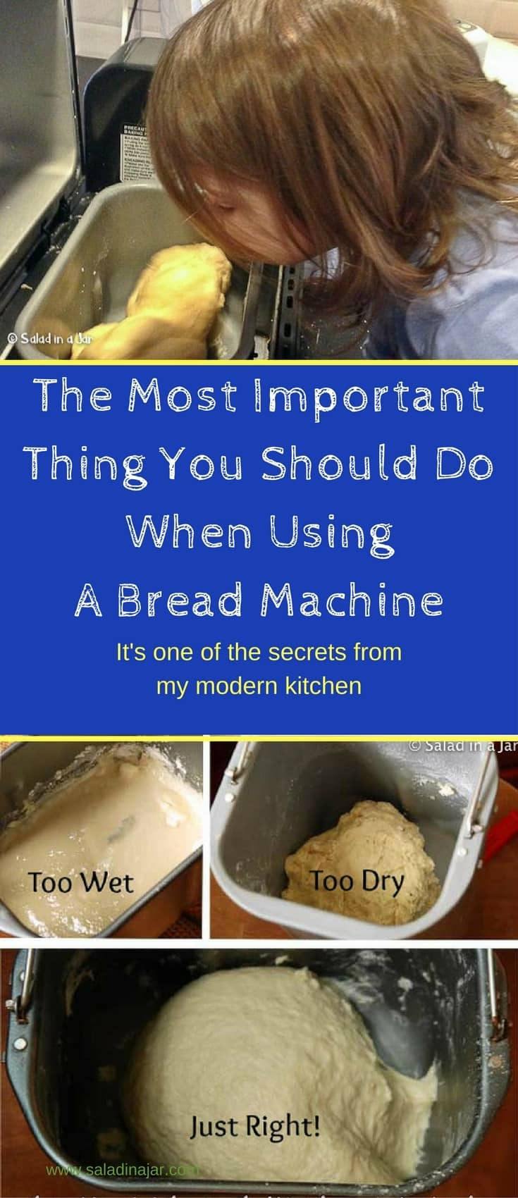 The Most Important Thing You Should Do When Using A Bread Machine, How to be successful with a bread machine, tips