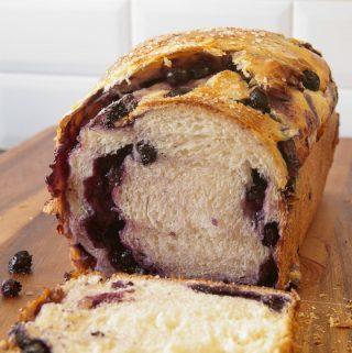 Blueberry-Stuffed Sally Lunn Bread