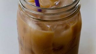 25-Calorie Iced Coffee Latte