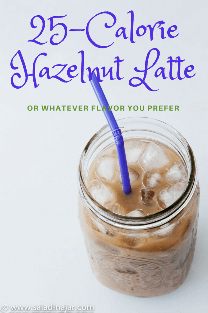 25-calorie iced latte