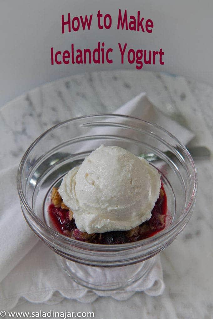 Icelandic Yogurt, high-protein, how to, homemade