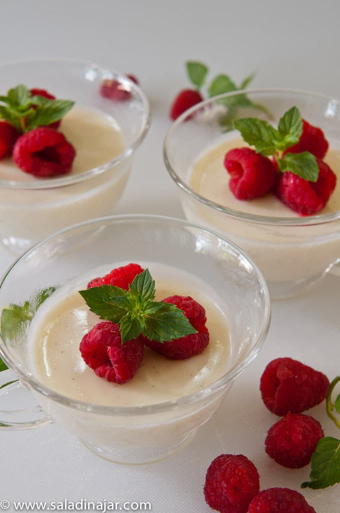 lemon posset, vanilla bean, dessert, easy, light, summer, ladies, luncheon