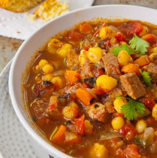 Pork And Hominy Stew An Instant Pot Recipe Salad In A Jar