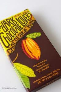 85% dark chocolate from Trader Joe's