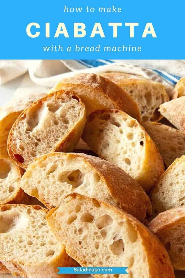 Use a bread machine to mix up Ciabatta dough with over-the-top flavor...includes secrets for shaping the sticky dough