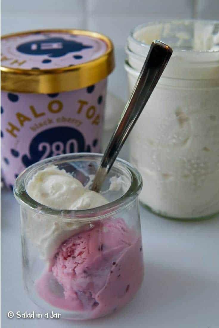 ice cream and yogurt treat