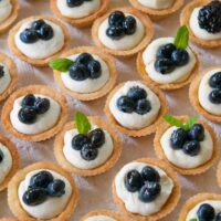 Mascarpone Cheesecake Mini-Tarts