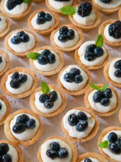 Mascarpone Cheesecake Mini-Tarts