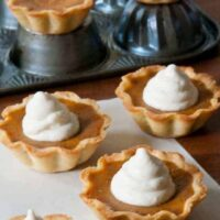Pumpkin Pie Mini Tarts