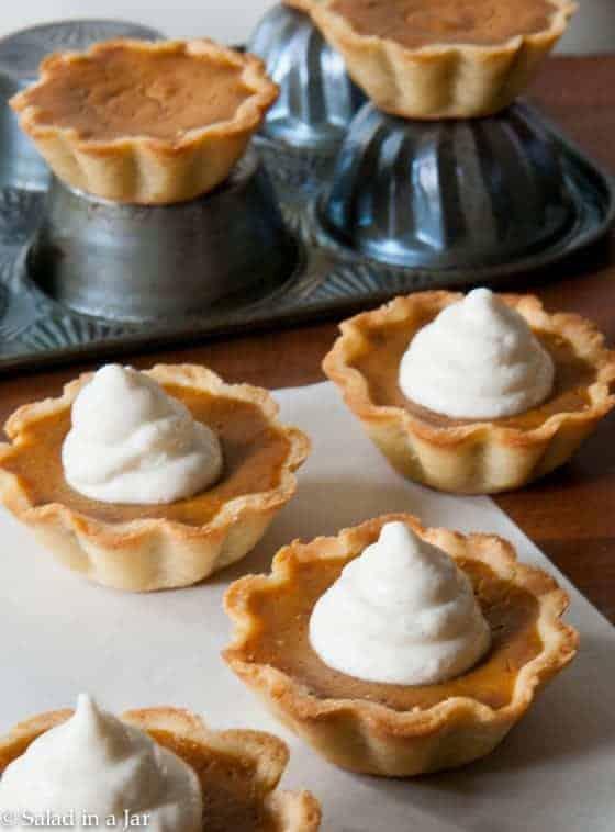 Pumpkin Pie Mini Tarts