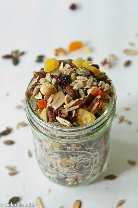 Homemade Fruit and Nut Trail Mix