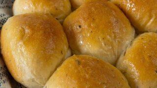Herb and Garlic Yeast Rolls