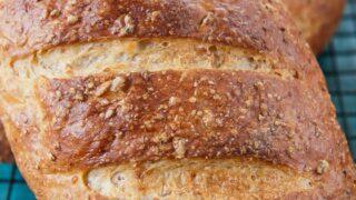 Cracked Wheat Berry Bread -- A Bread Machine Recipe