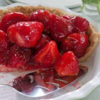 Aunt Marg's BEST Glazed and Extremely Fresh Strawberry Pie