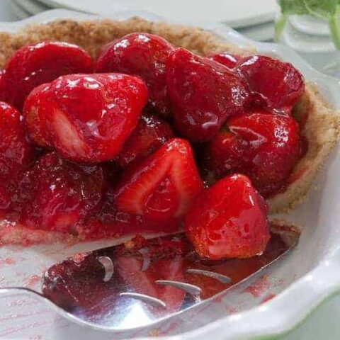 Glazed Fresh Strawberry PIe