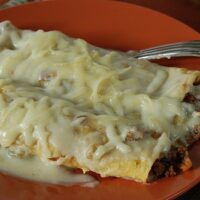 Green Chili Enchiladas