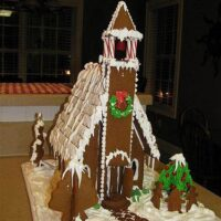 How to Make a Gingerbread Church House