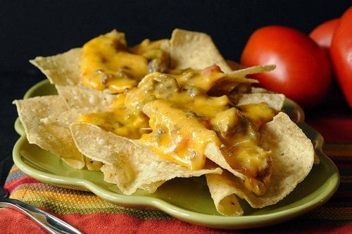 Easy Velveeta Cheese Dip with Beef and Sausage Recipe