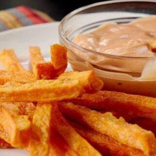 A Cajun Dip for Sweet Potato Fries