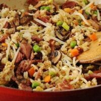 Ham and Veggie Fried Rice