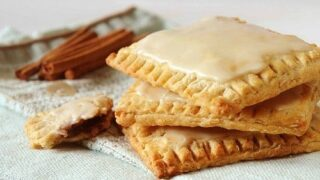 Homemade Brown Sugar-Cinnamon Oatmeal Pop-Tarts