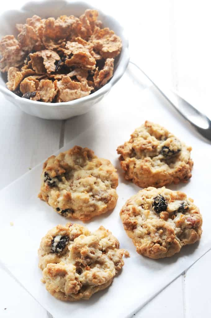 Raisin Bran Crunch Cookie Recipe