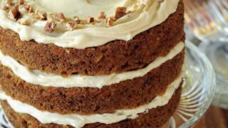 A Carrot Cake to Celebrate