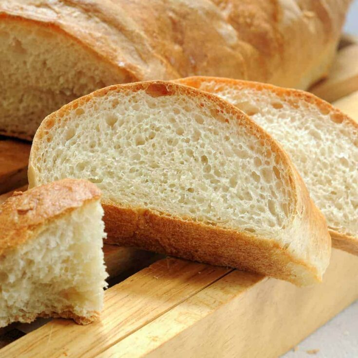 A Crusty Bread Machine French Bread