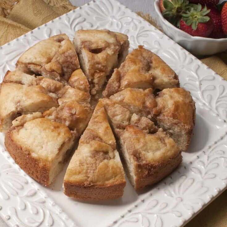Derinda's Kid-Friendly Coffee Cake