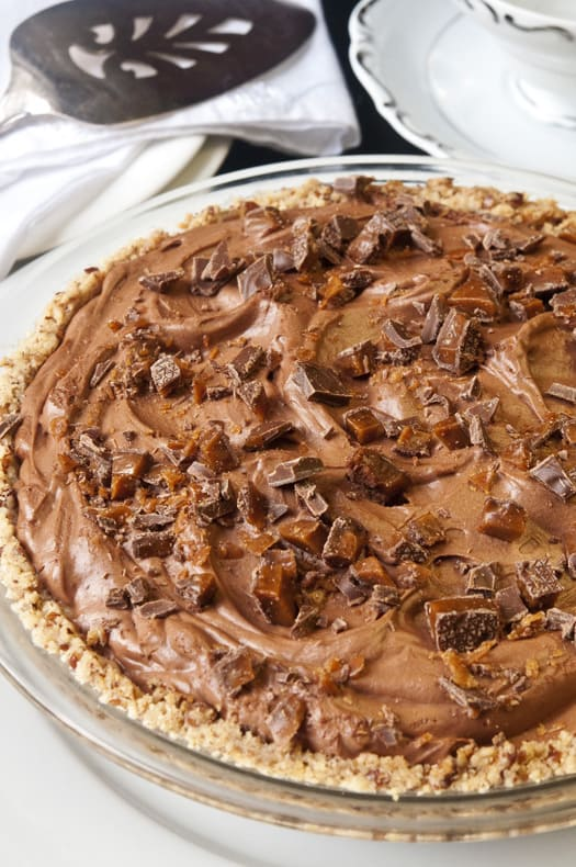 Aunt Marg's French Silk Chocolate Pie
