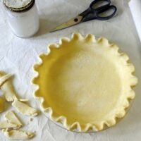 Flaky All-Butter Pie Crust with Yogurt