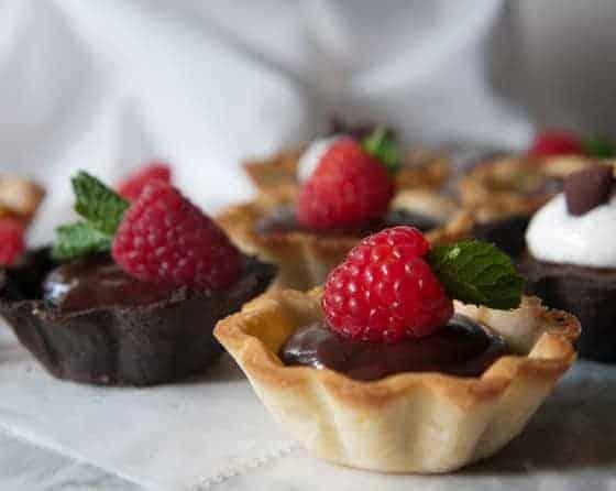 Chocolate Ganache Mini-Tarts