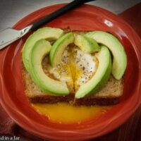 Simple Egg-in-a-Hole Avocado Toast in Under 9 Minutes