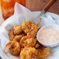 Really Crunchy Fried Shrimp