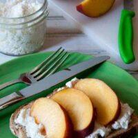 Homemade Ricotta Cheese Using Whey Drained From Yogurt