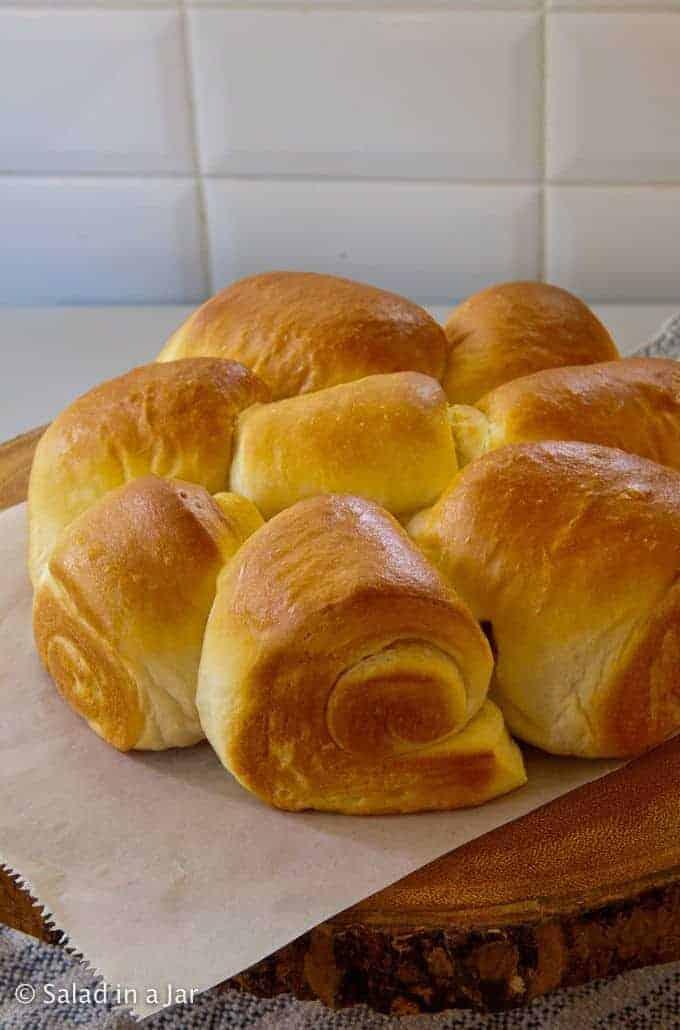 The Softest Bread Machine Dinner Roll Recipe