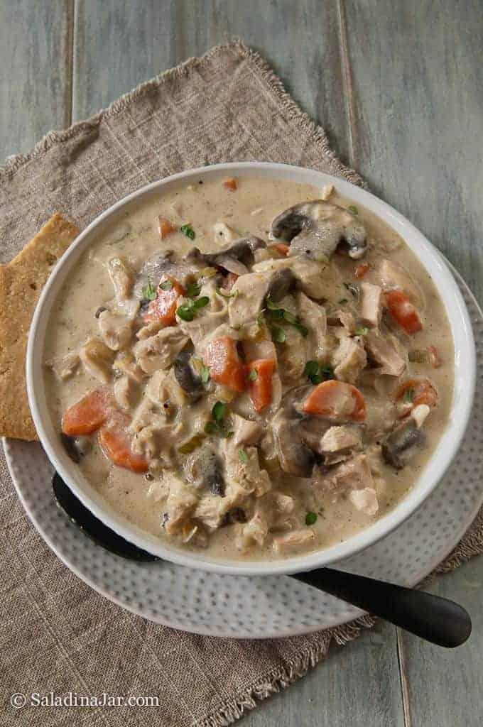 Chicken and Mushroom Chowder