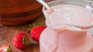 Strawberry Yogurt Salad Dressing