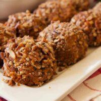 Sweet Potato Balls-ready to serve