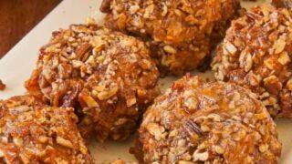 Spicy Pecan-Crusted Sweet Potato Balls