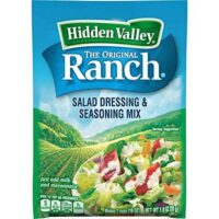 Hidden Valley Original Ranch Salad Dressing & Seasoning Mix, Gluten Free - 1 Packet