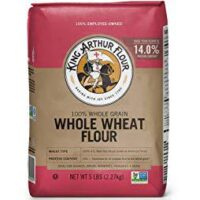 King Arthur Flour Premium 100% Whole Wheat Flour, 5 Pound