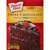 Duncan Hines Signature Cake Mix, Swiss Chocolate, 15.25 Ounce