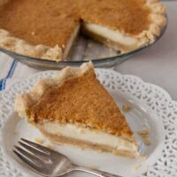 Grandma's Magic Pumpkin Pie with Incredible Layers