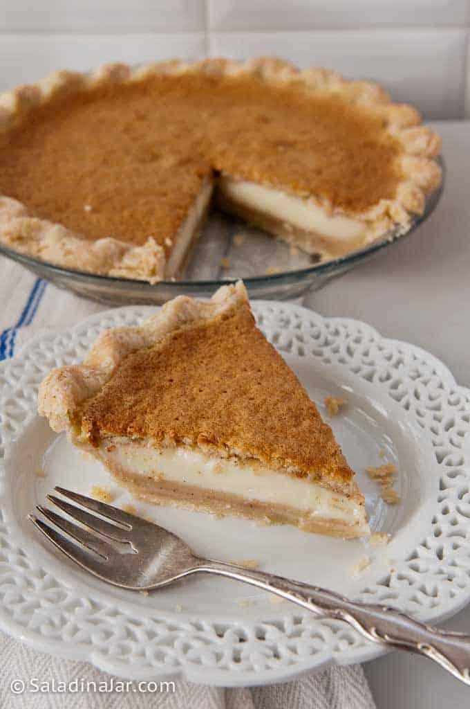 Grandma's Magic Layered Custard Pumpkin Pie