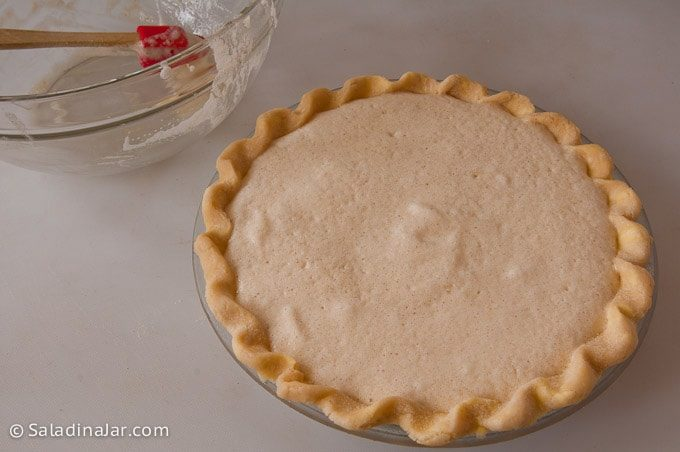 pie ready to put in the oven