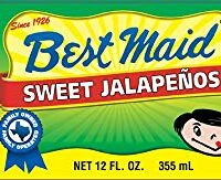 Best Maid Sweet Jalapenos 12 Oz (Pack of 2)