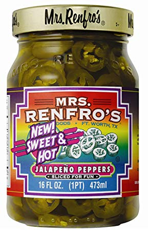 Sweet and Hot Jalapeno Peppers