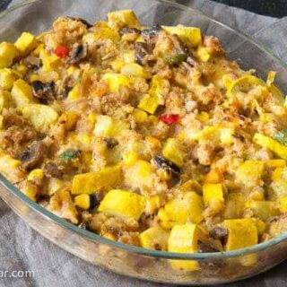 Green Chili and Squash Dressing