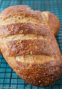 whole loaf -Cracked Wheat Berry Bread